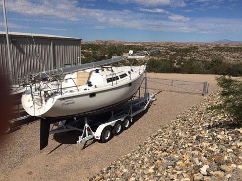 Catalina 30 MK 111 wing keel, 1995 sailboat