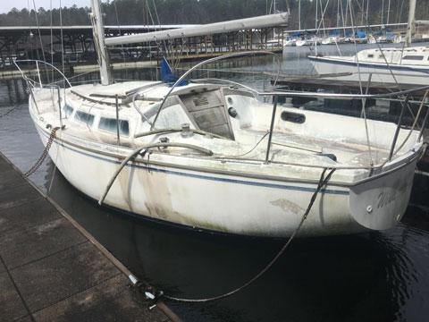 Catalina 30, late 70s sailboat