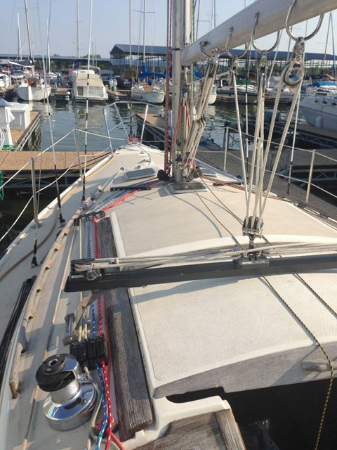 Catalina 30, Tall Mast, 1984 sailboat