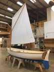 2017 Cat's Paw Sailing Dinghy, 13 ft. sailboat
