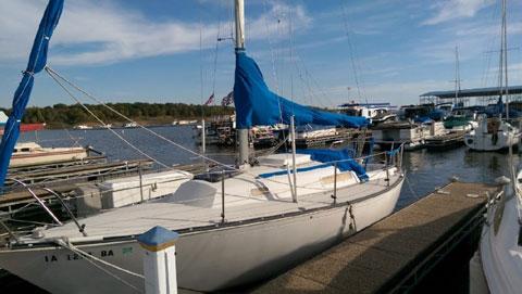 C&C 26, 1977 sailboat