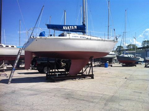 C&C 29, 1977 sailboat