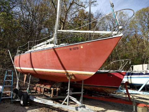 C&C 30, 1975 sailboat