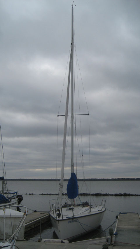 Colgate 26, 2011 sailboat