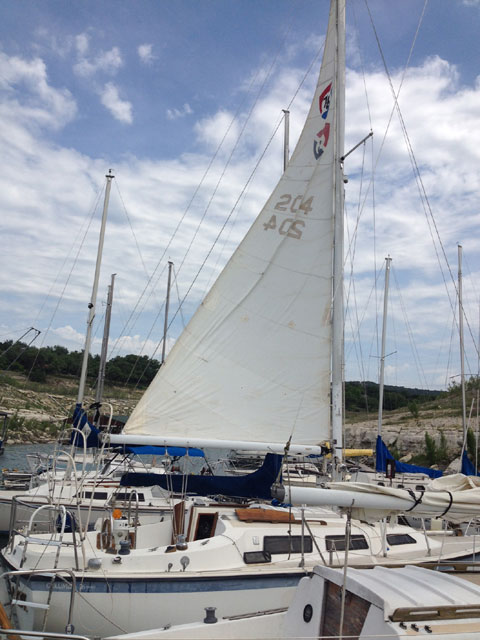 Columbia 7.6, 1976 sailboat