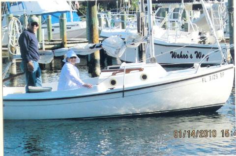 Com Pac 16, 1981 sailboat