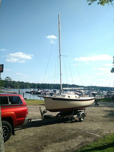 Com-Pac 16-2, 1987 sailboat