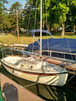1987 Compac 16 II sailboat