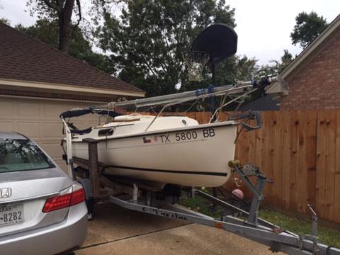 Compac Legacy w/trailer, 2007 sailboat