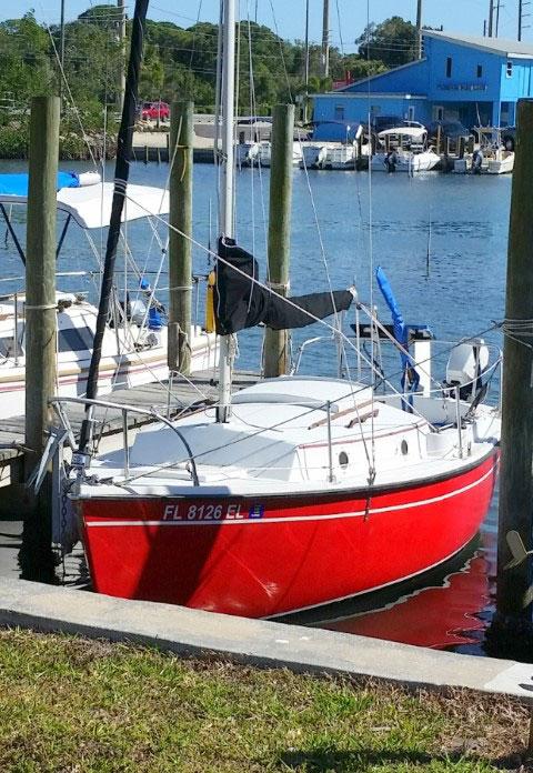 ComPac 19, 1982 sailboat