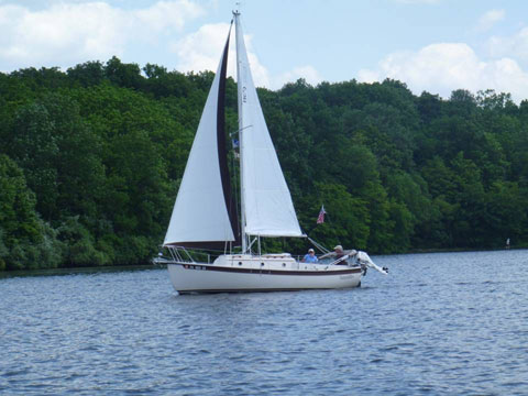 Com Pac 23/II, 1987 sailboat