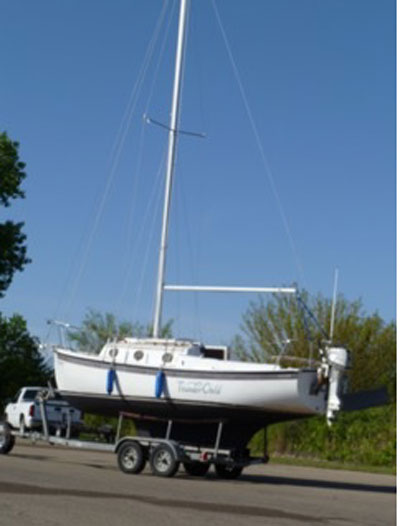 ComPac 23/3, 1990 sailboat