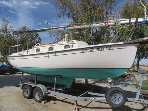 Compac 23, 1998 sailboat