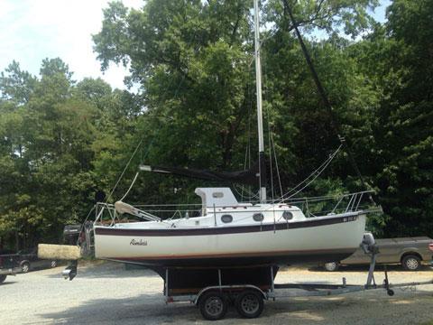 Compac 23/3, 1989 sailboat