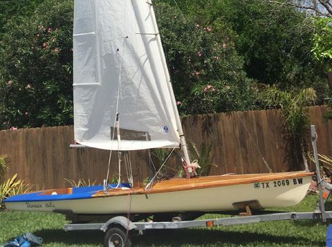 Rondor International Contender, 16 ft., 1973, Corpus Christi, Texas sailboat