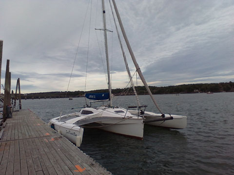 Corsair Trimaran 28CC, 2002 sailboat
