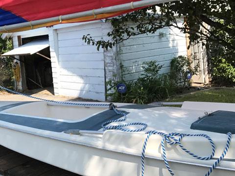 Dolphin sailboat