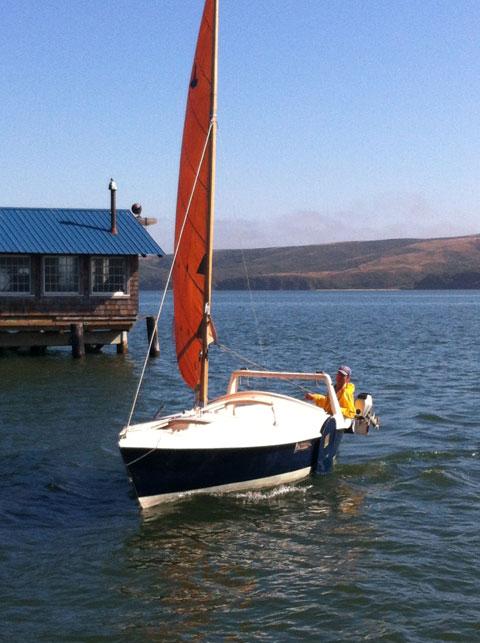 Edey & Duff Dovekie sailboat