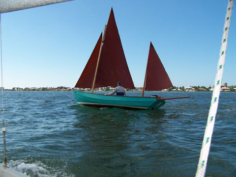 Drascombe Lugger, 19'6, 1974 sailboat