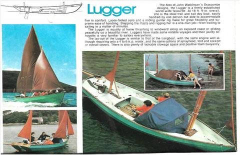 Drascombe Lugger, 18'9