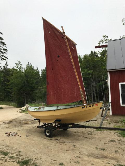 Drascombe Scaffie, 14 ft., 1984 sailboat