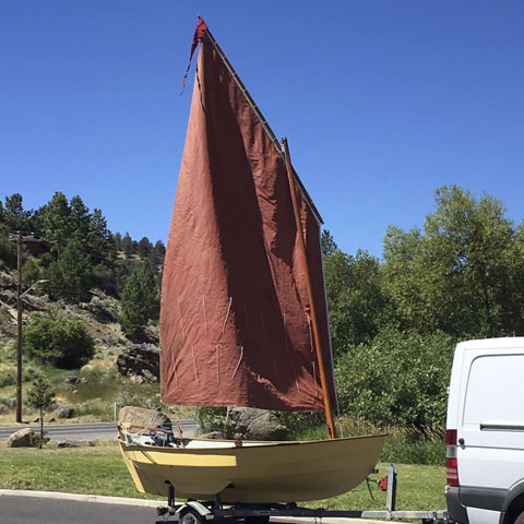 Drascombe Scaffie, 1980 sailboat