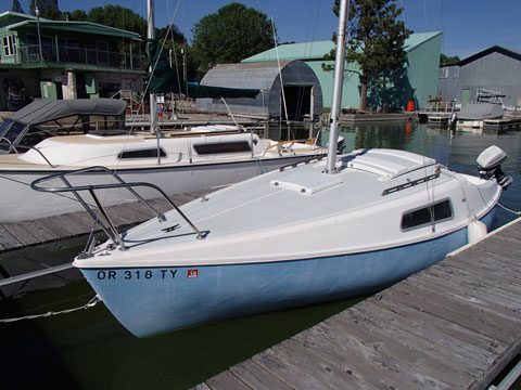 Boat Trailer Wiring >> Ensenada 20, 1973, Phoenix, Oregon, sailboat for sale from Sailing Texas, yacht for sale