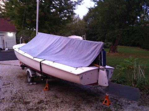Flying Scot, circa 1972 sailboat