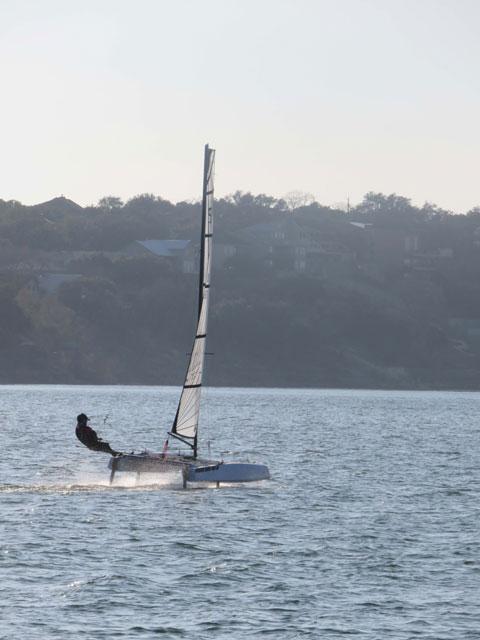 S9 Foiling Catamaran 2016 sailboat