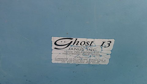 Ghost 13, 1977 sailboat