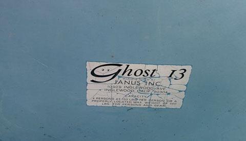 Ghost 13, 1977 sailboat
