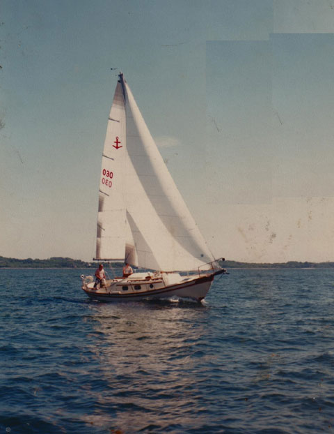 GILMER 28, SOUTHERNCROSS 28, 1982 sailboat
