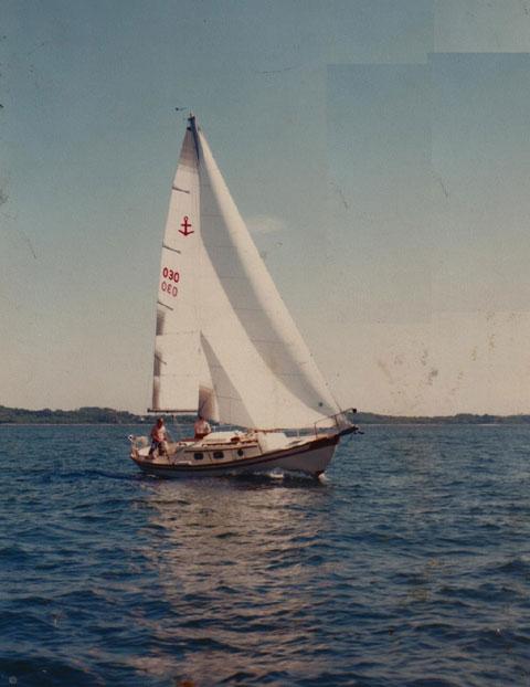 GILMER 28, SOUTHERNCROSS 28, 1982 sailboat