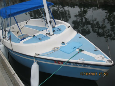 Guppy 13D, 1975 sailboat
