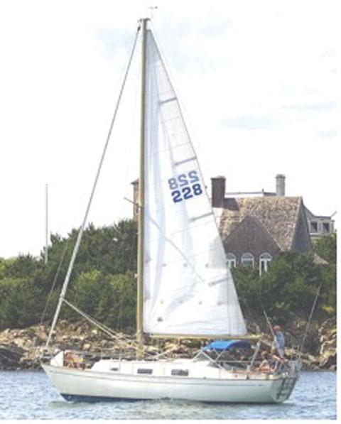 Hallberg-Rassy, Monsun 31, 1976 sailboat