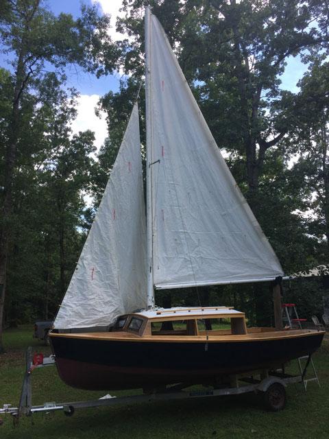 Hartley TS 16, 2017 sailboat