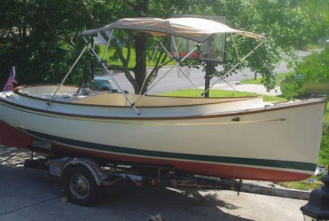 Herreshoff Scout, 18 ft., 1974 sailboat