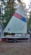 Herreshoff America, 18 ft., sailboat