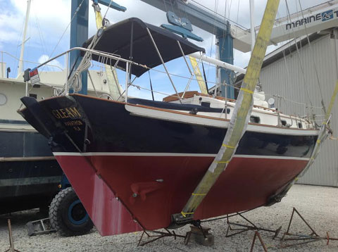 H-28, Sailboat by Parkins Marine, 1982 sailboat