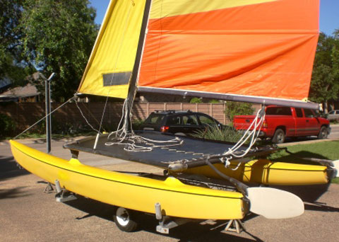 Hobie 14 Turbo, 1976 sailboat