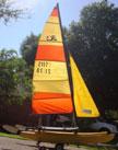 1976 Hobie 14 sailboat