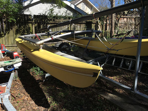 Hobie Cat 16 foot, 1981 sailboat