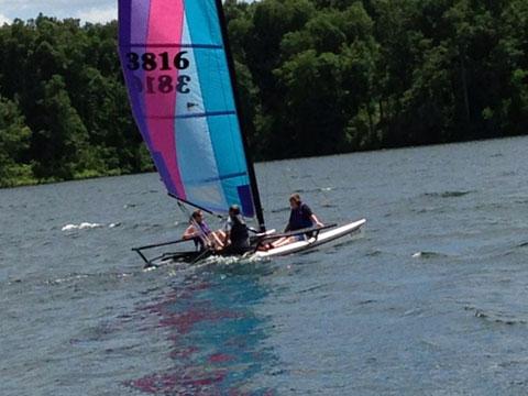 Hobie 17, 1988 sailboat