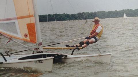 Hobie 17, 1986 sailboat