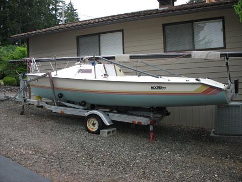 Vagabond Holder 20, 1984 sailboat