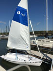 Hunter 140 sailboat