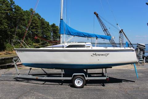 Hunter 23, 1989 sailboat