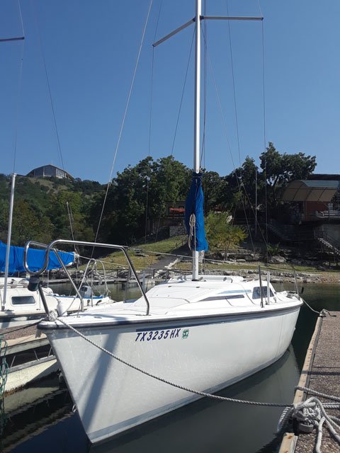 Hunter 23.5, 1990 sailboat