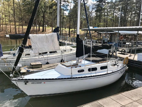Hunter 25, 1977 sailboat
