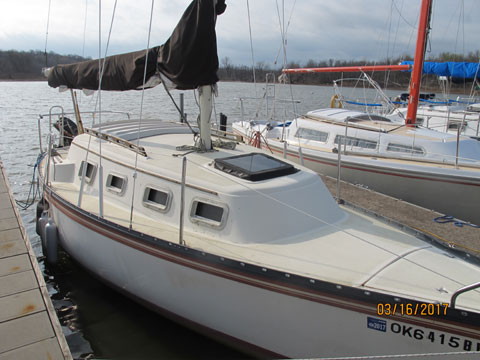 Hunter 25, 1983 sailboat